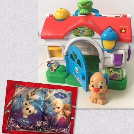 Музикална къща Fisher Price Mattel френски език музикална възглавница