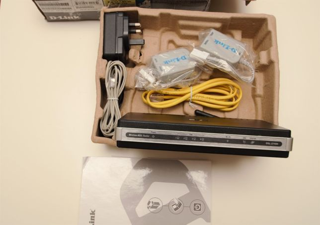 router D-Link wireless N (DSL 2740R)