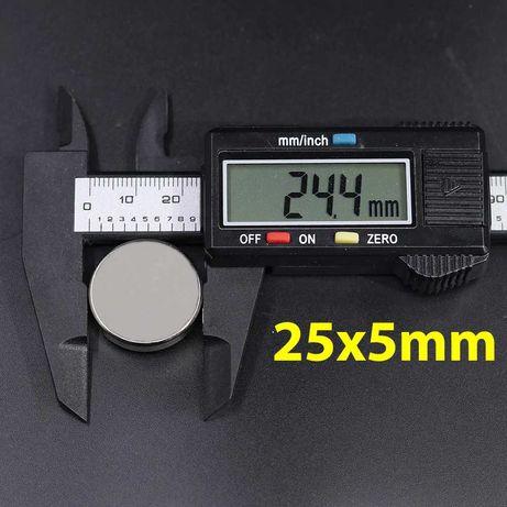 25/5mm неодимов МАГНИТ N52, Neodymium magnet