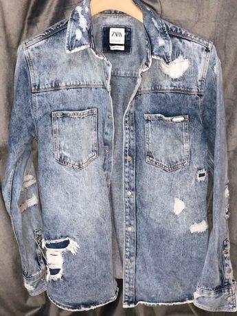 Jacheta tip Cămașă Zara Noua Oferta