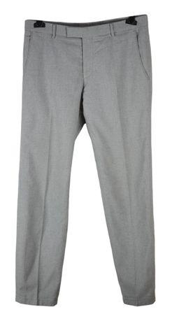 Pantaloni Barbati Windsor Santino marimea W33 K32 Gri Bumbac BS21