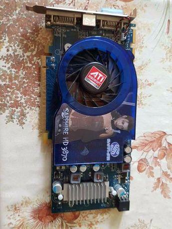 Видео Sapphire Radeon HD 3870 775Mhz PCI-E 2.0 512Mb 2250Mhz 256 bit