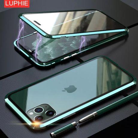 Двоен Магнитен Кейс 360 Градуса за Apple iPhone 11 / 11 Pro / Max