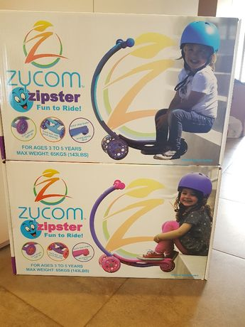 Тротинетка Zycom Zipster със светещи колела