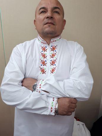 Мъжка фолклорна риза -45 лв