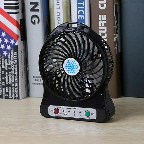 Мощный настольный мини вентилятор (квартира,дом,дача,офис,работа,авто)