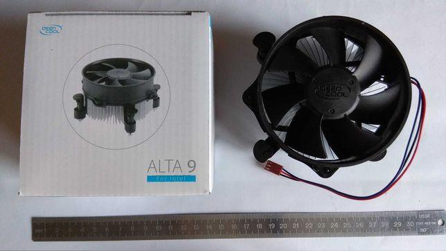 Кулер для процессора DEEPCOOL ALTA 9: LGA1156/1155/1150/775, 65W