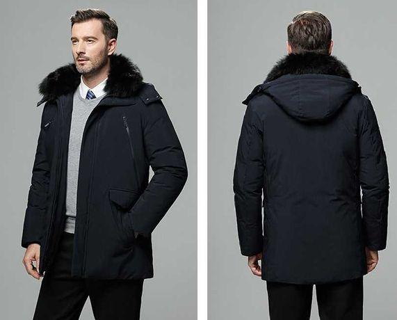 Солидная Мужская Классическая Куртка