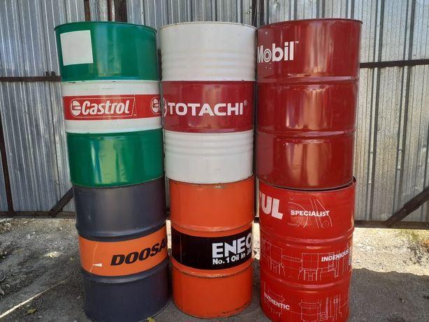 Бочки б/у металлические 200 литров бочка из под растворителя