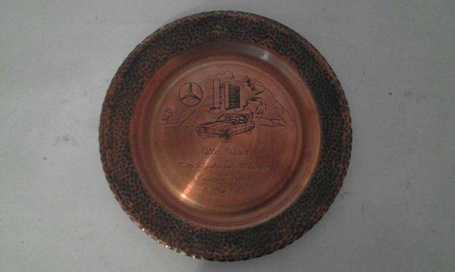 Farfurii alamă, ceramică, lut, lemn si metal; sculptate sau pictate