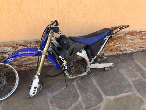 Yamaha YZF250F На Части