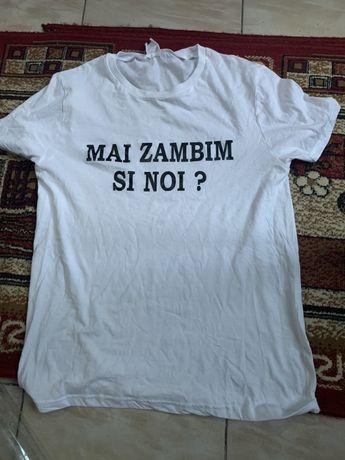 Tricou personalizat : Mai zambim si noi ?