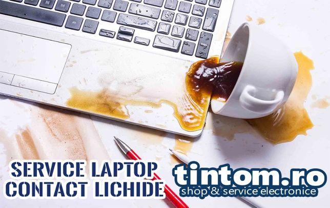 Service Laptop Display Tastatura Mufa Incarcare Contact Lichide