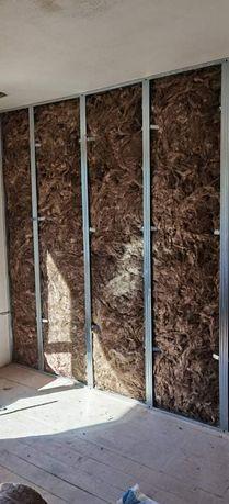 Гипскартон, шпакловка, боядисване, ремонт на покриви, СМР