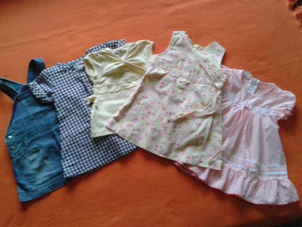 rochite bumbac 3-6 luni