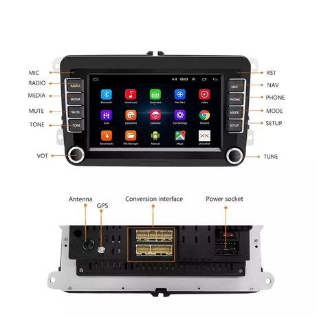 Navigație cu Android pentru VW Golf/Polo/Jetta, Seat, Skoda