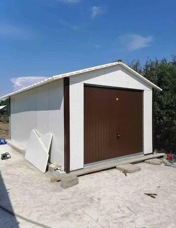 Construim garaje, cabane din lemn, căsuțe din panou Sandwich