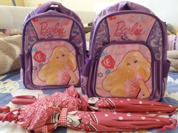 Детска раница Барби, използвана, налични 2 бр. еднакви