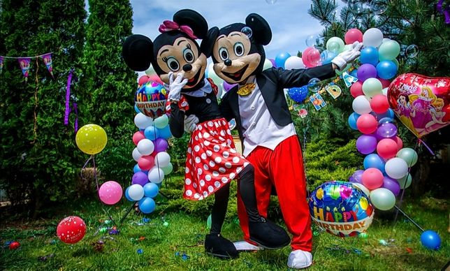Animatori petreceri copii-Personajele Disney/ pictura faciala/ baloane