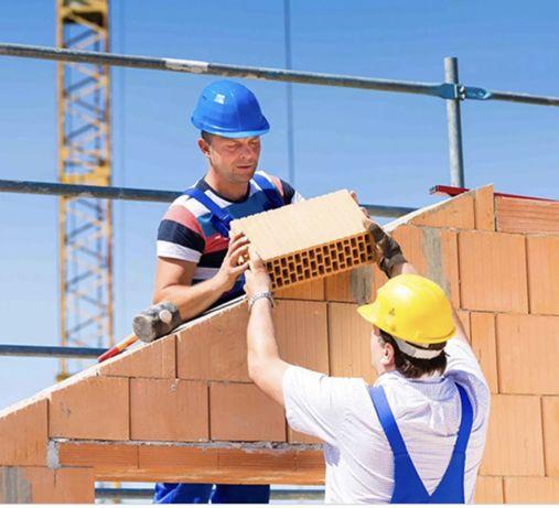 Срочно нужны рабочие на стройку дома