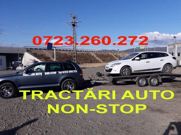 Tractari Auto Deva Non-Stop Platforma Asistenta rutiera