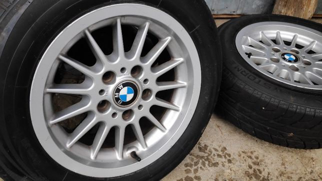 Jante aliaj BMW 15 inch + anvelope vara