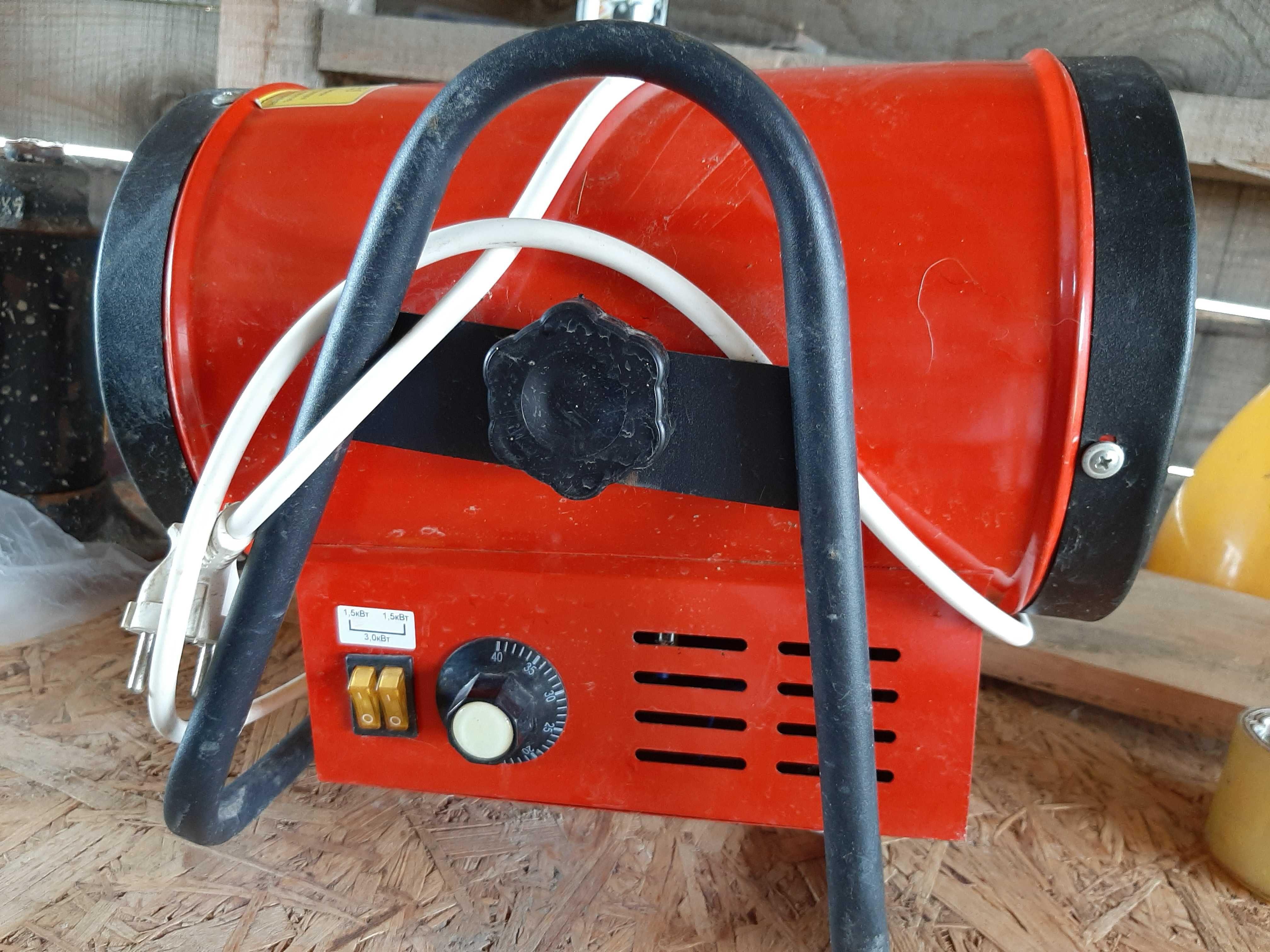 Тепловая пушка (электрокалорифер) 3 кВт.