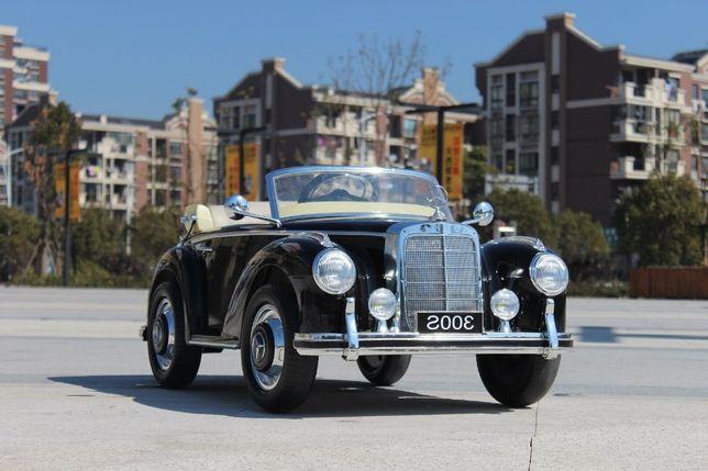 Masinuta electrica pentru copii Mercedes 300S OldTimer #Negru