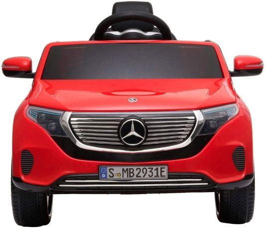 Masinuta electrica Kinderauto Mercedes EQC400 70W 12V #Rosu