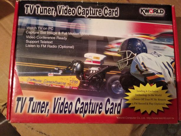 TV Tuner, Video Capture Card