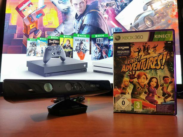 Kinect/Senzor de miscare Xbox 360 Arcade, Slim sau E + Joc Cadou