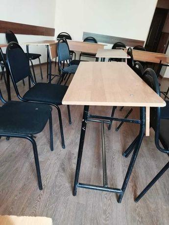 продам срочно парты и стулья  бу для учебных центров