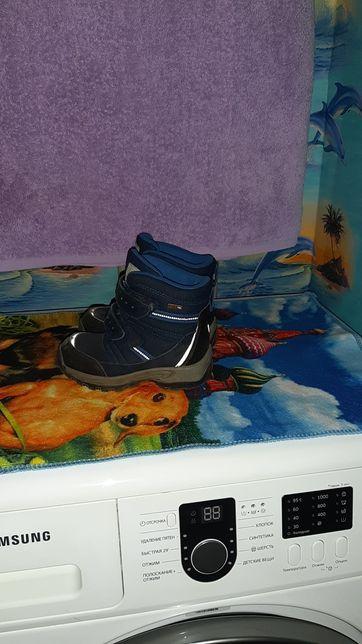 Ботинки на  осень - весну, на мальчика.