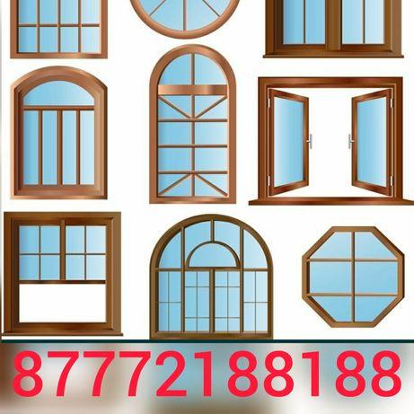 Пластиковые окна, двери, решётки на окна, маскитные сетки, балкон и тд