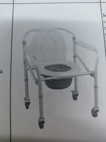 Scaun WC cu roti