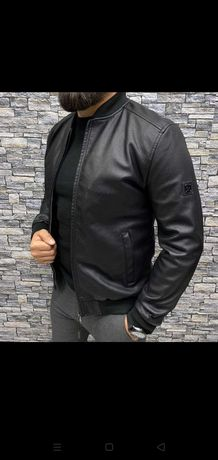 Кожаная куртка Calvin Klein