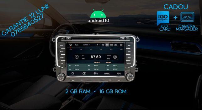 Navigație RNS VW SEAT SKODA Android 10, DSP, CarPlay PREMIUN