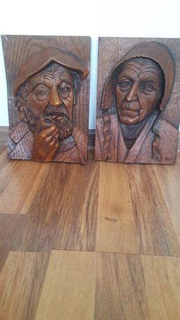 tablouri sculptate 3D,lemn