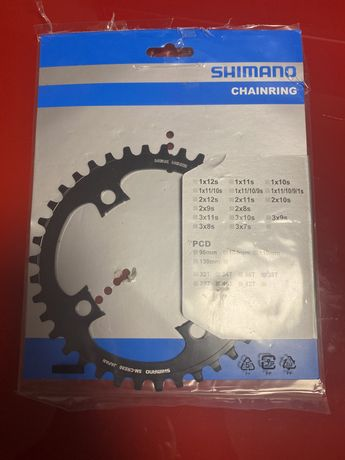 Foaie 38 dinti motor E8000 Shimano STEPS SM-CRE80 SM-CRE80-B electric