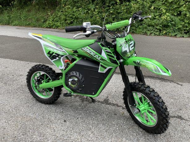 Motocicleta electrica pentru copii Eco Jackal 1000W Jackal #Verde
