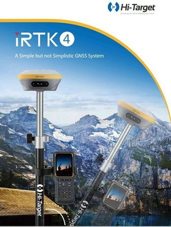 Gps gnss Hi-Target iRTK4 cu iMU + iHand 30