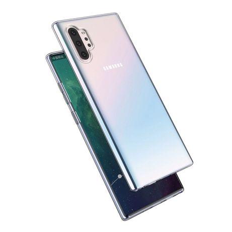 Samsung Note 8 9 10 10 Plus - Husa Silicon Transparenta sau Neagra