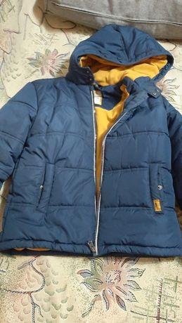 Продам   куртку для  мальчика  воз 7 - 8  лет б/у в хорошем  состояние