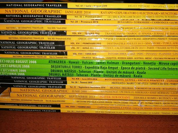 Colectie National Geographic Traveler 20 buc