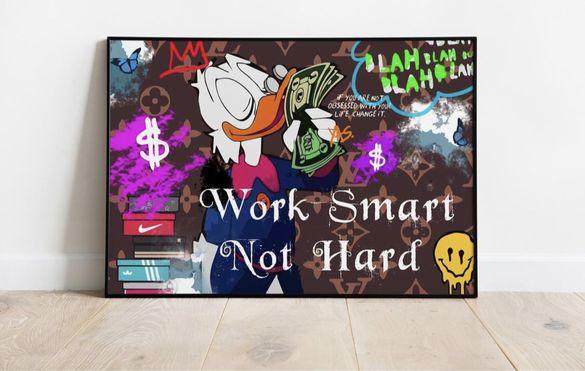 Постер Work Smart