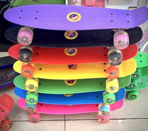 Скейтборд - пениборд (penny board)