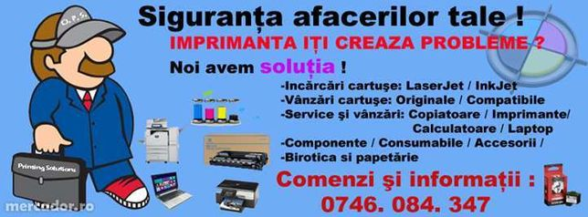 Service Copiatoare/Imprimante/Calculatoare/Laptop