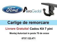 Carlig Remorcare Ford Transit Van - Livrare Gratuita - Omolgat RAR