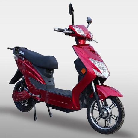 Bicicleta Electrica Scuter Deluxe VOLTA VSX 48V 20 Amperi, ROSU Visi !