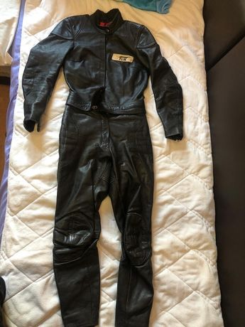 Costum motociclist piele